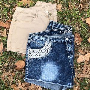 Super Cute 💕 2 pairs of Shorts